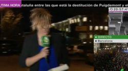Solidaridad y bromas con Cristina Pardo por lo que le pasa en pleno