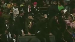 Lanzan huevos a Maduro durante un acto