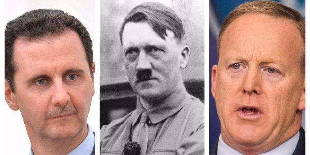 Bachar el Assad, Adolf Hitler y Sean