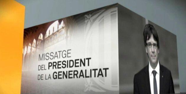 El Gobierno traslada a TV3 su queja por rotular a Puigdemont como