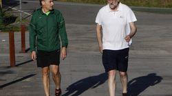 Rajoy luce gemelos en sus
