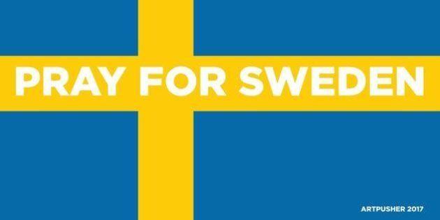 Un artista danés convoca una manifestación por los atentados en Suecia inventados por