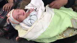 El horror de Mosul: mujeres embarazadas dan a luz donde pueden mientras huyen da la