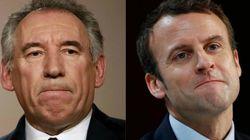 Bayrou renuncia al Elíseo y da su apoyo a