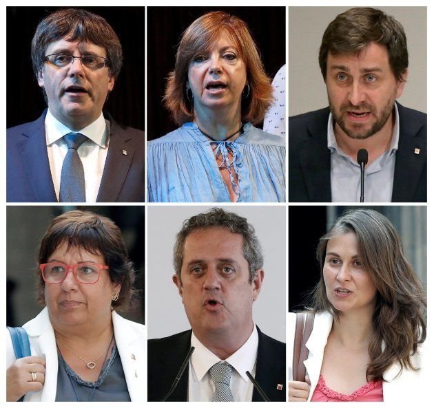 Puigdemont está en