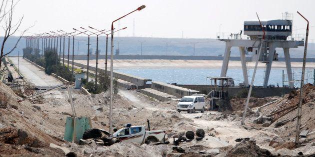 La localidad de Al Tabqa, donde se han producido los hechos, en una imagen del pasado 28 de