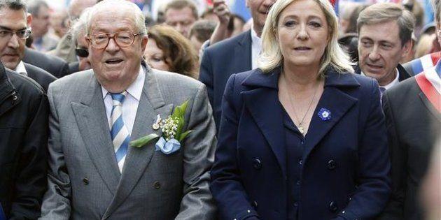 Jean-Marie Le Pen indigna con un tuit de cuatro palabras sobre España (y en