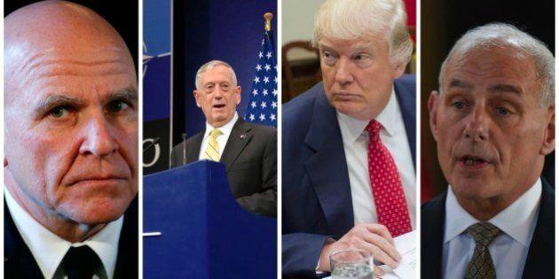 Los tres generales que pueden frenar el extremismo de Trump y