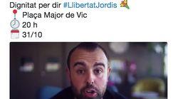 La ANC propone una butifarrada por 'los Jordis', sus propios seguidores se rebelan y en redes pasa lo que estás