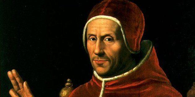 Jan van Scorel: Adriano de Utrecht, Inquisidor general, presidente del Consejo y regente de Castilla...