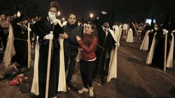 Ocho detenidos por desórdenes en la Madrugá de la Semana Santa de