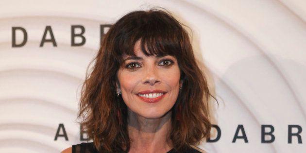 La actriz Maribel Verdú, durante el estreno de la película 'Abracadabra' en Madrid el