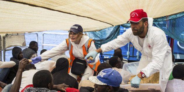 Rescatados más de mil inmigrantes en nueve operaciones en el