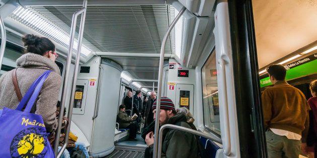 La estación de metro de Plaza Catalunya, en una imagen de archivo de