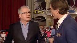 Un micrófono abierto le juega una mala pasada a este presentador de Canal