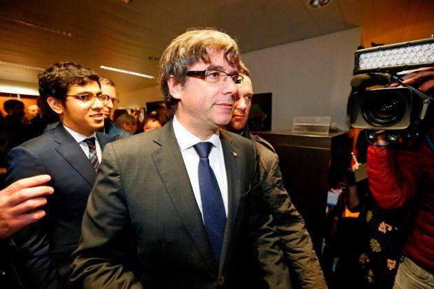 El expresidente catalán este