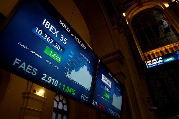 Imagen de archivo del IBEX 35, principal indicador de la Bolsa