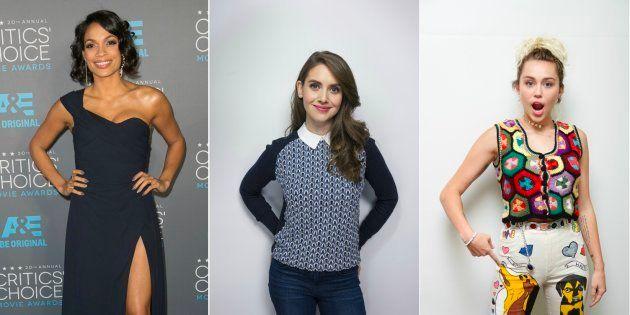 Filtradas fotos íntimas de Miley Cyrus, Kate Hudson, Alison Brie y Rosario