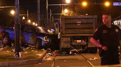 Un hombre borracho atropella a 28 personas en Nueva