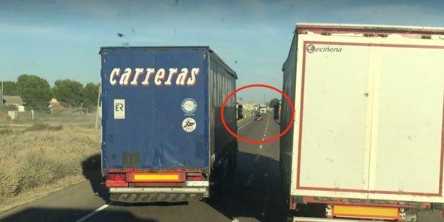 Detenidos los dos camioneros que hicieron estas