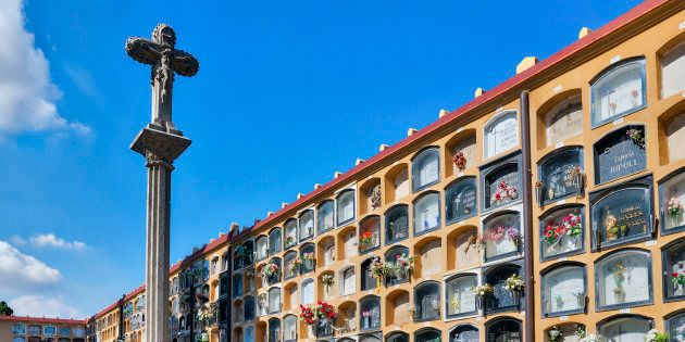 Cementerio de Les Corts, en Barcelona. John Greim/LightRocket (Getty