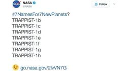 Esto pasó cuando la NASA pidió ayuda para nombrar los nuevos