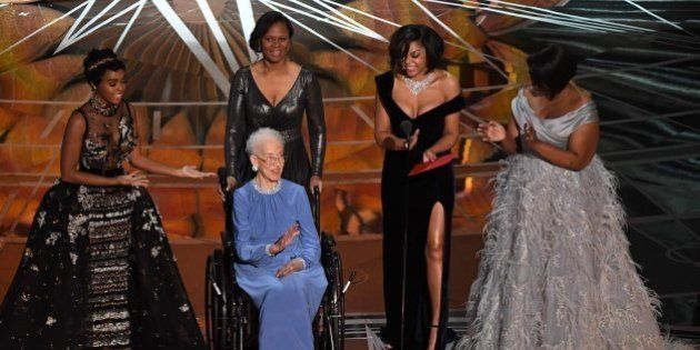 Katherine Johnson, matemática de la NASA, vivió un momento de Oscar con el reparto de 'Figuras
