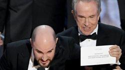 Fallo histórico: Warren Beatty anuncia ganadora a 'La La Land' cuando era