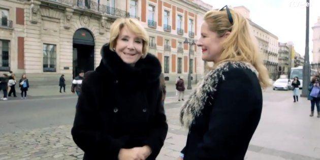 ¿Qué diantres hace Esperanza Aguirre en
