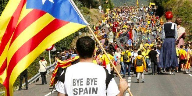 Un 75% de catalanes avala un referéndum pero pierde apoyos la vía