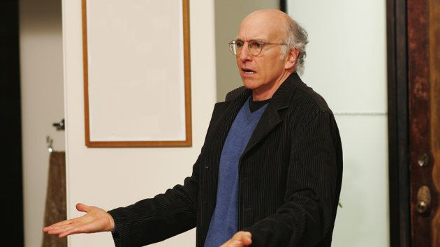 Larry David en un capítulo de 'Curb your