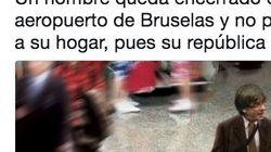 El chiste que todo el mundo está haciendo sobre el viaje de Puigdemont a