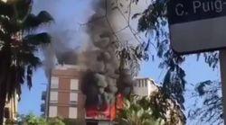 Un muerto en el incendio en un bloque de Sarrià-Sant Gervasi