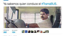 El PP de Madrid responde al 'tramabus' en Twitter y la broma le sale