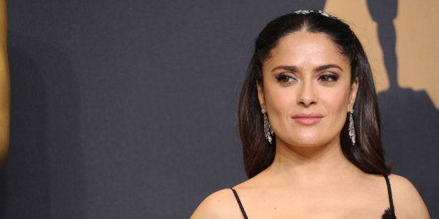 Salma Hayek supo que 'La La Land' no había ganado el Oscar a Mejor película antes que