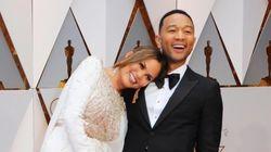 Chrissy Teigen se quedó dormida en los Oscar (y más de una