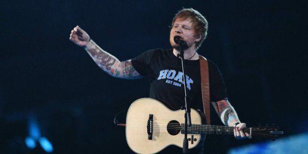 Ed Sheeran y Jimmy Fallon interpretan