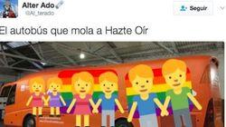 Twitter tunea el autobús de Hazte Oír y este es el genial