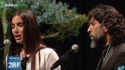 La emocionante versión del himno de Andalucía de India Martínez y