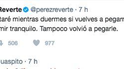 El épico zasca ortográfico a Pérez Reverte en