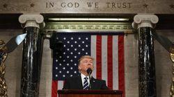 Trump defiende su visión de país en su primer discurso en el Congreso: