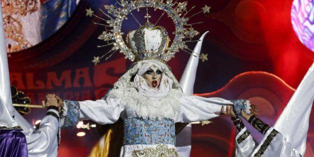 Televisión Española retira de su web la gala del Carnaval en la que ganó una Virgen