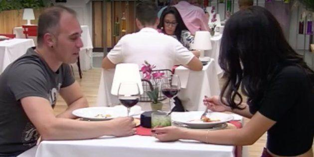 Un doble despiste pareció acercar a esta pareja en 'First Dates'