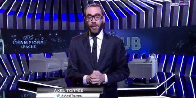 Áxel Torres, comentarista de Bein Sports, se desmaya en pleno