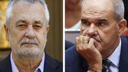 La juez rechaza acusar a Chaves y Griñán en los cursos de