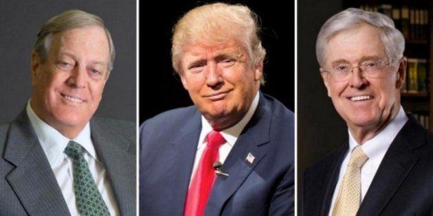 Con Trump y los hermanos Koch, petróleo barato y contaminación para