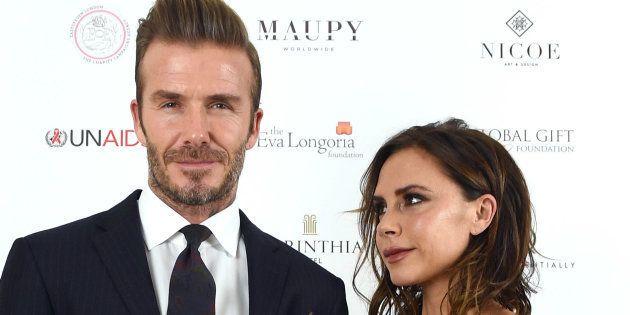David y Victoria Beckham, en un evento en noviembre de