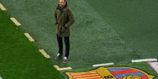 Luis Enrique anuncia que dejará el Barça a final de