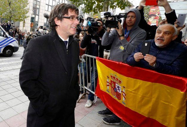 El silencio de Puigdemont en los tres momentos clave de la crisis