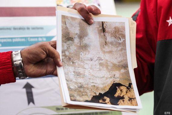 Maduro dice que la cara de Chávez apareció en la excavación de un túnel de Metro